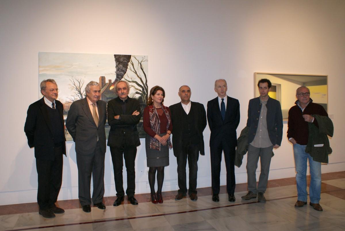 Inauguración exposición Premio Internacional de Pintura Focus Abengoa